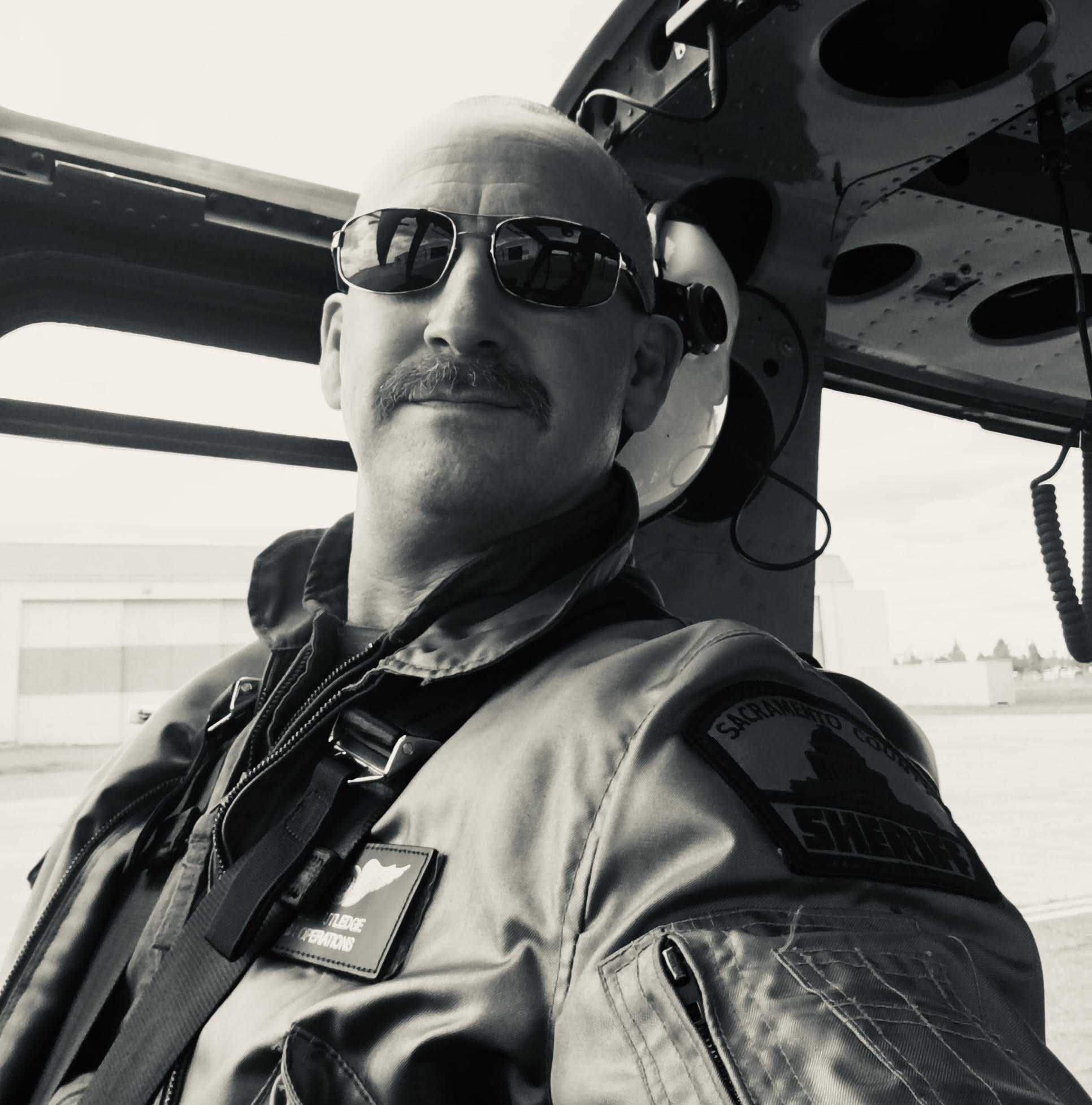 Season 3 Episode 8: Brian Rutledge, Sacramento County Sheriff's Office Aviation Unit  Brian Rutledge  A powerful episode as we talk with Sheriff Brian Rutledge. Deputy Rutledge has been in law enforcement for nearly 30 years and has been with the Sacramento County Sheriff's Office Aviation Unit for the last 15. He has a plethora of knowledge and experience with various aircraft. We talk about career progression, attitude, mindset, the job itself and most of all, what it means to be apart of the Thin Blue Line. We dedicate this episode to the late Tara O'Sullivan who lost her life in the line of duty Wednesday, June 19, 2019.