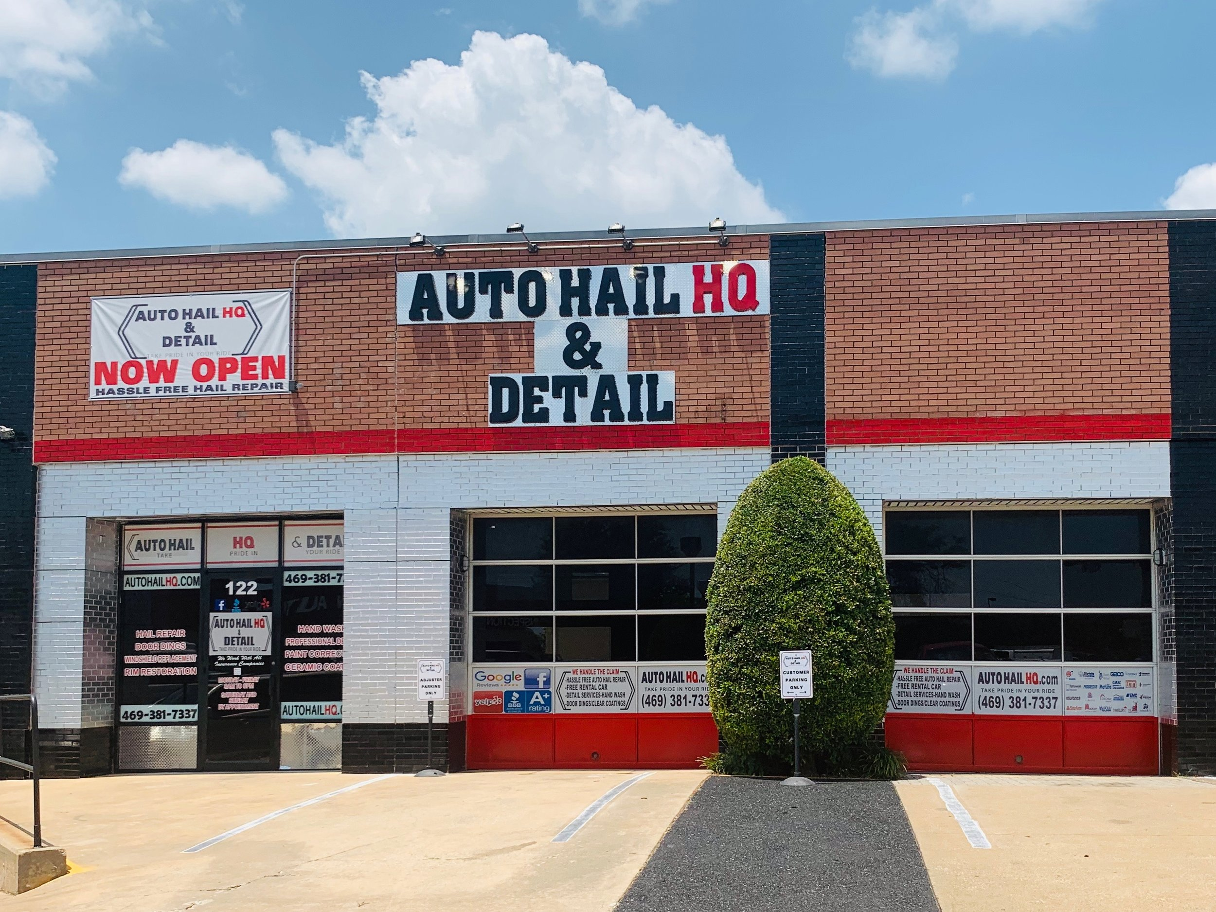Auto Hail HQ is the leading auto hail restoration and detail company serving N. Texas and Oklahoma City markets.