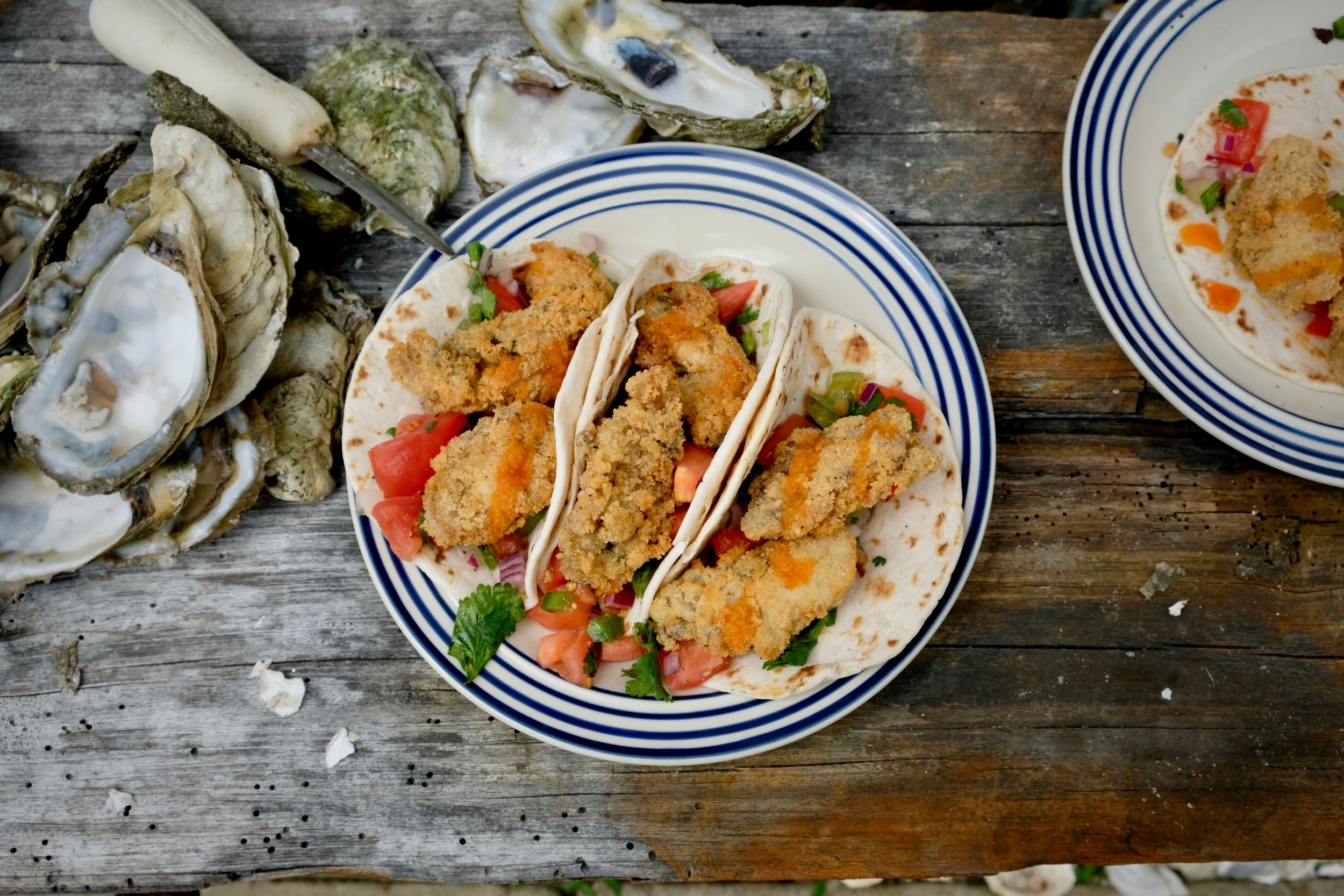 fried oyster taco recipe