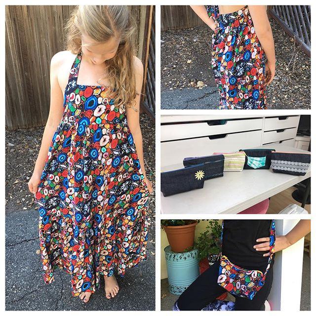 Summer time calls for floral prints. #sewing #sewinglessons #sewingclass #summer #summercamp #sewwithsonia