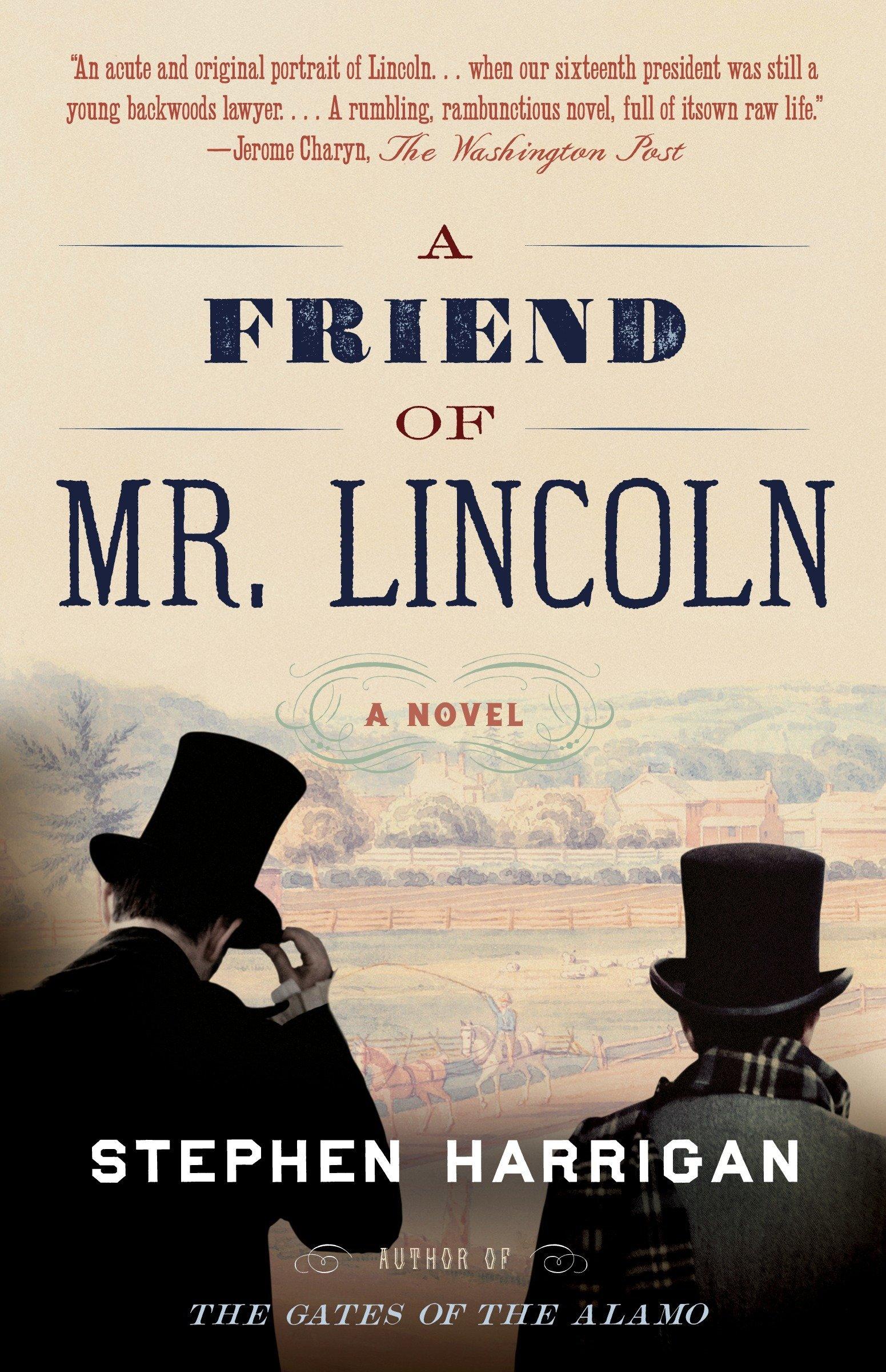 A Friend of Mr. Lincoln Book Cover