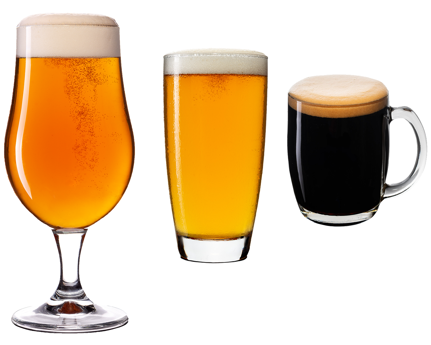 THE GLASS - Craft beer is best drunk from a glass. Why?1. You will maximise the taste and aroma, as 70% of the taste comes from the smell alone. Drinking from the can or bottle minimises the release of these aromas.2. A glass will assist in head retention, while carbonation (often being released from nucleation points at the bottom of the glass) will provide greater mouth feel.3. We eat and drink with our eyes. Drinking from a glass allows your visual senses to be stimulated, which will enhance your sense of taste, smell and flavour.source: www.beercartel.com.au