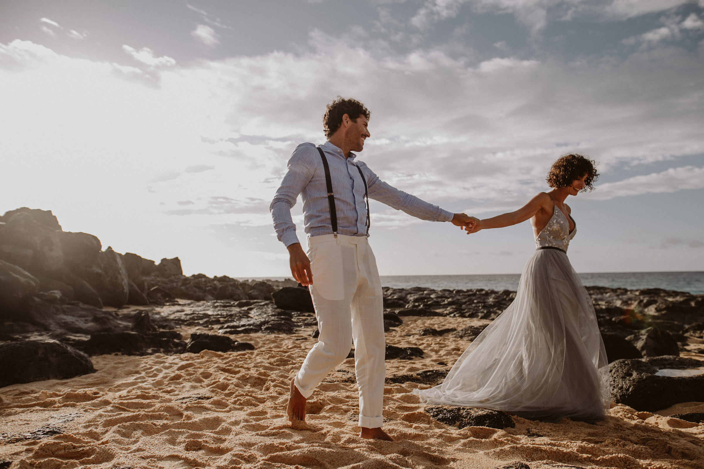 29°15′6″N 13°30′29″W  SUNKISSED SESSION ON THE BEACH  laura + hector