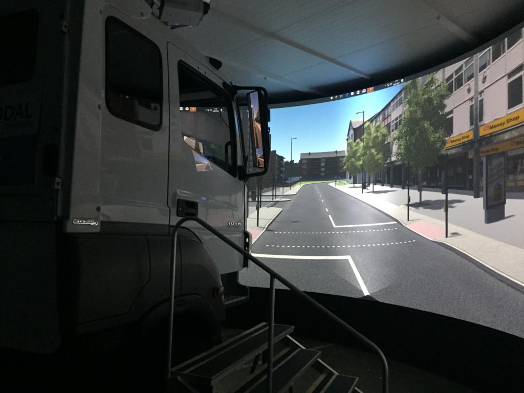 Image: Modal Trainings brand new state of the art HGV simulator