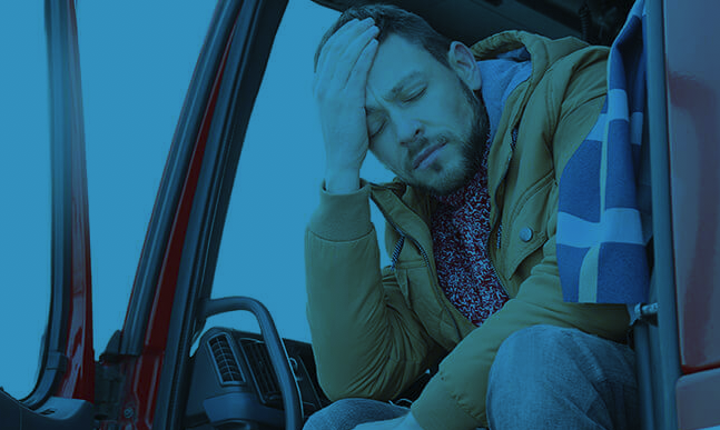 LGV driver fatigue is one of the most common dangers to road safety and poses a number of risks to drivers as well as passengers on the road. That's why regular health checks are important.