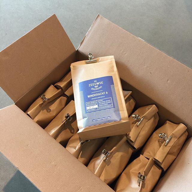 We schenken de heerlijkste koffie van bonen van De Zeeuwse Branding van werelds beste #barista Rob Clarijs!