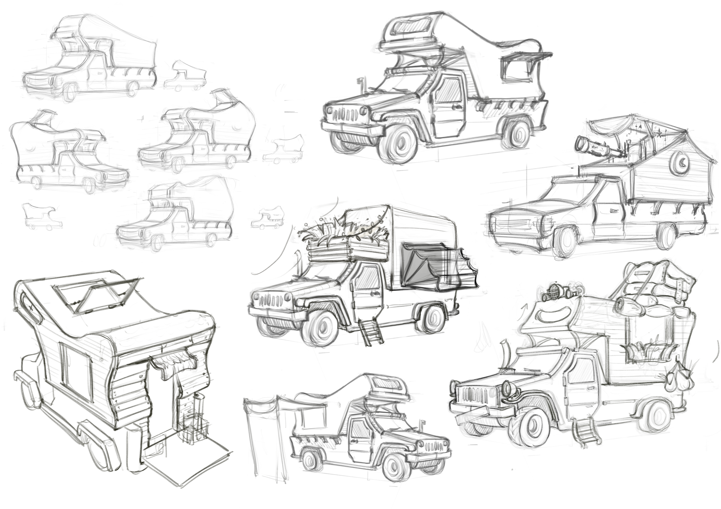 Camper Sketches