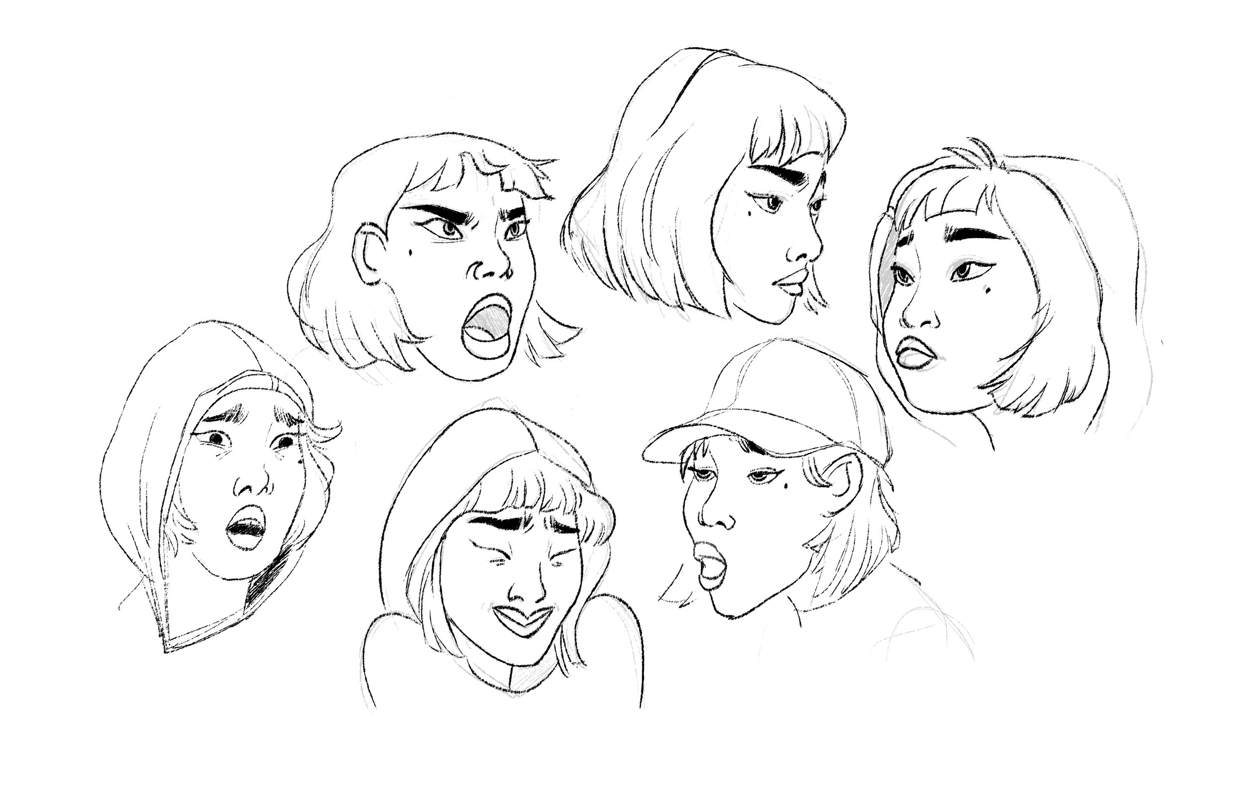 Character development for personal project