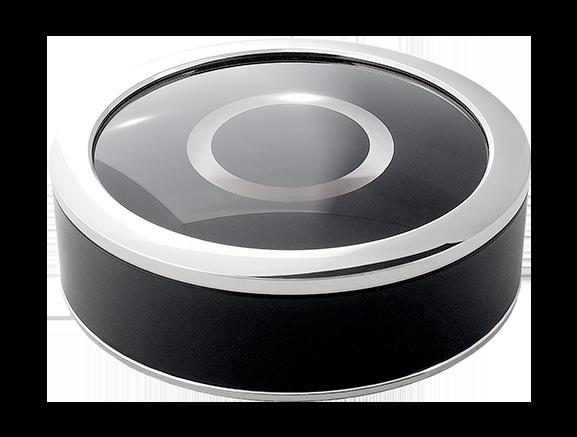 Solid Black - Service Call ButtonSilverMatte Black