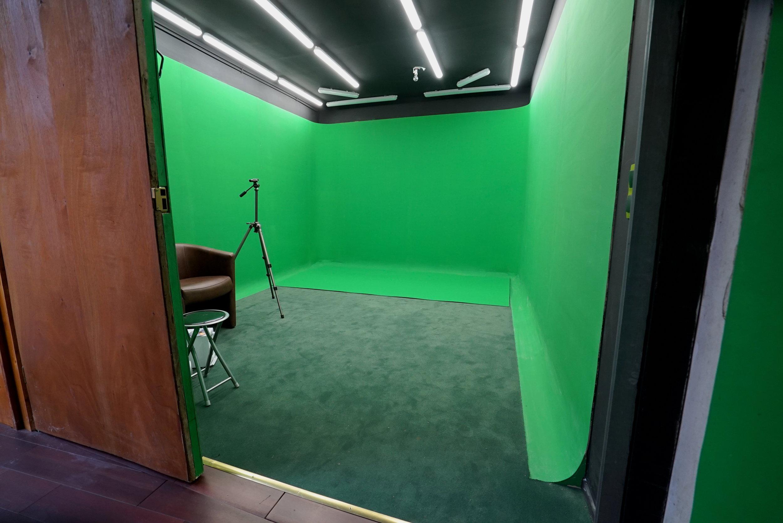 fond de studio vert anatole studio