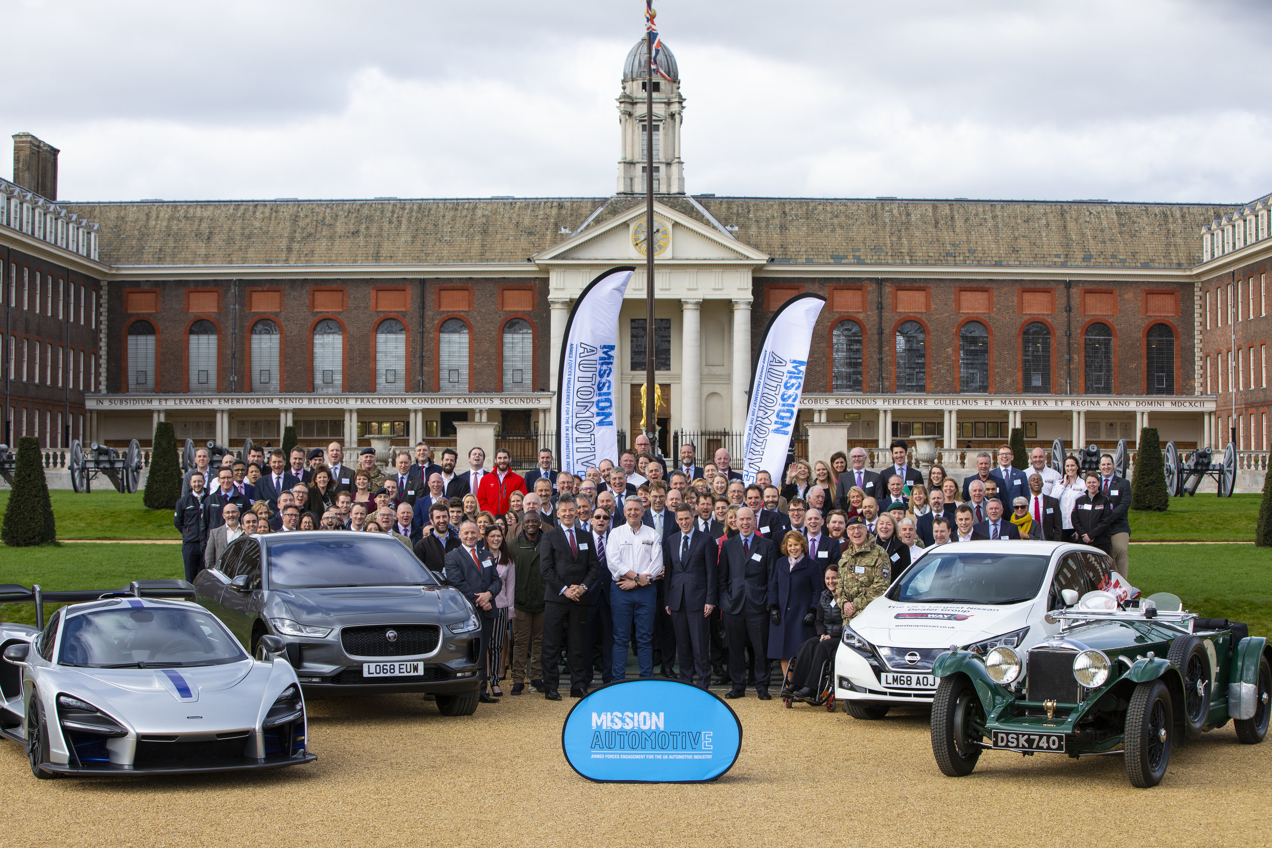 Mission Automotive's Public Launch! 07/03/19 Royal Hospital Chelsea!