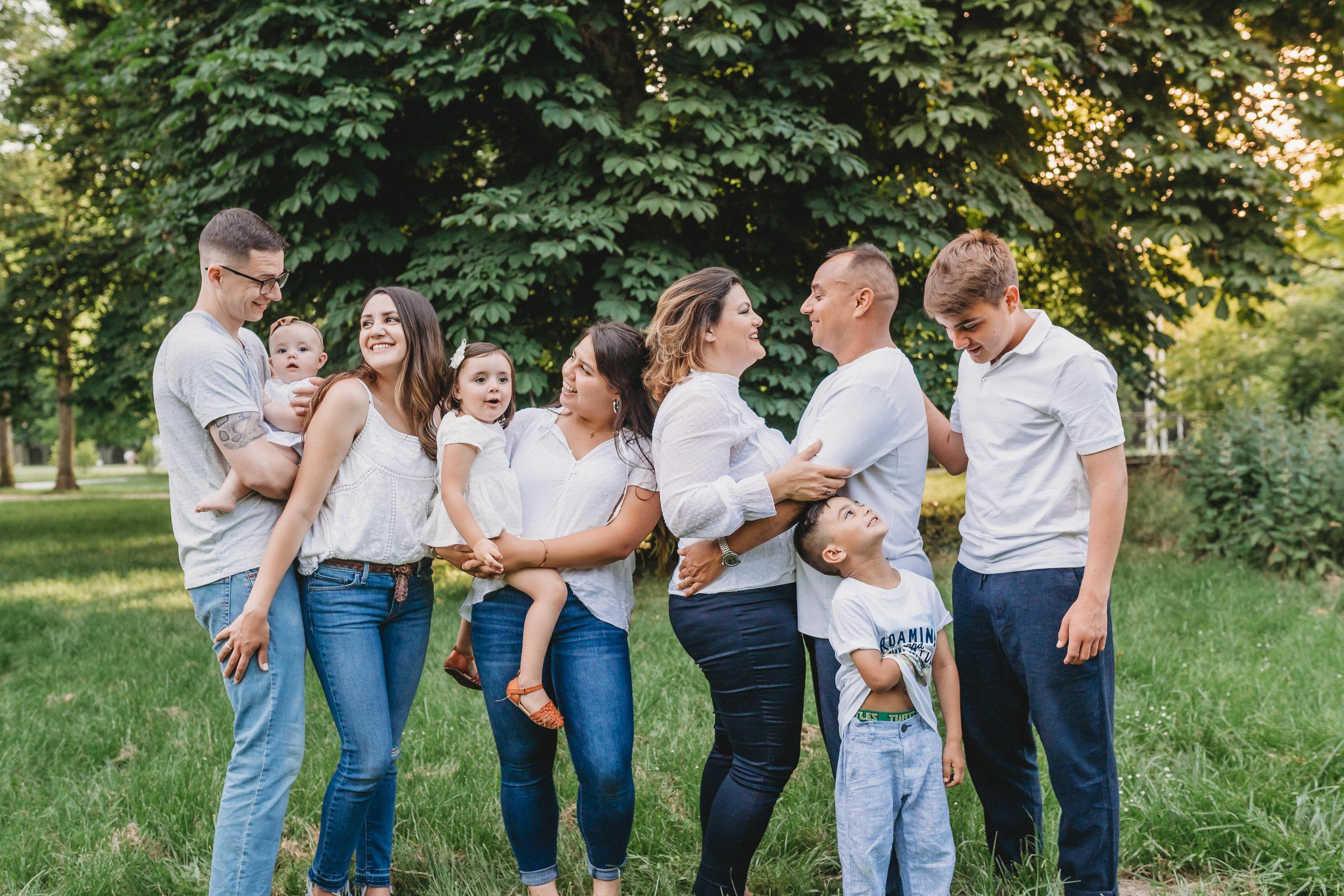 Moncivais Family