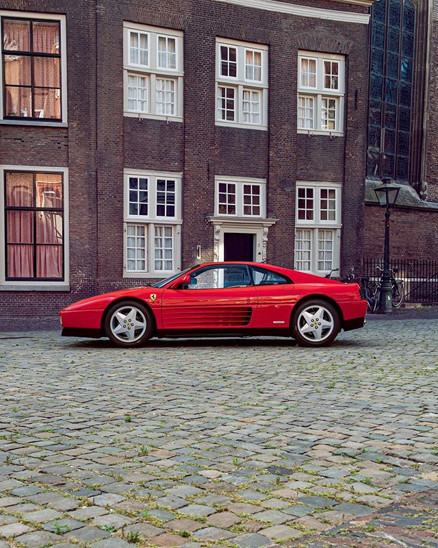 Ferrari 348 TB in Leiden. For sale @hoogselections @ferrari #ferrari #oldtimer #ferrari348 #ferrari348tb #348tb #v8 #ferrari🇮🇹 #italy #leiden #sportscars #apaphoto #italiansportscar #sportscar #caroftheday #cars #redferrari #ferrarired #348tbferrari #carphotography