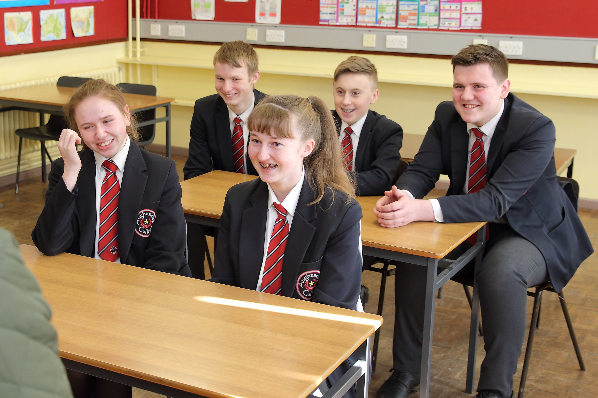 AUGHNACLOY COLLEGE -