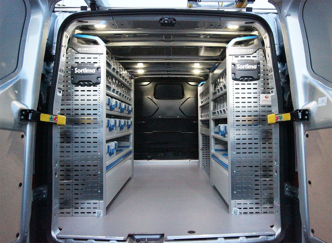 Van Racking For An Electrician