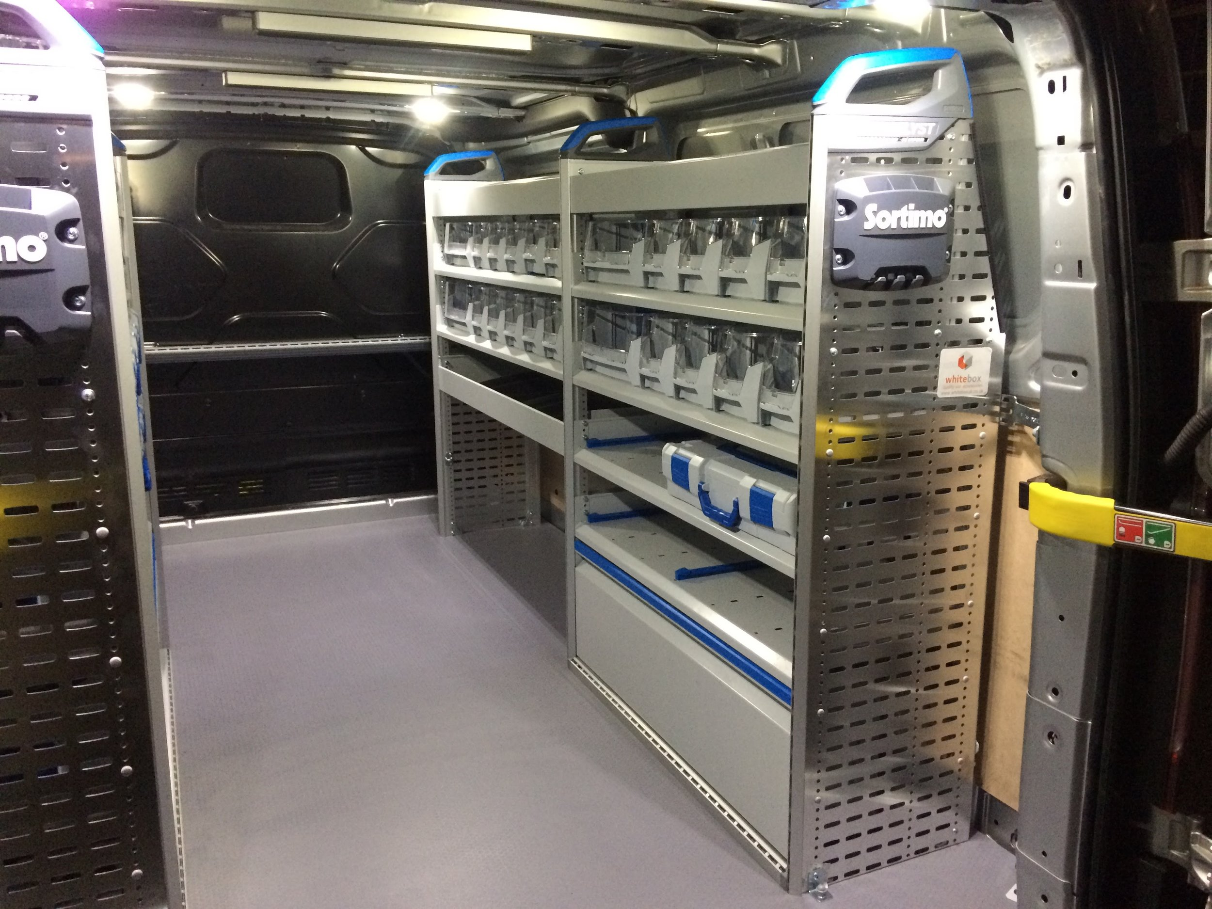 A Van Racking Installation For A West Sussex Electrician
