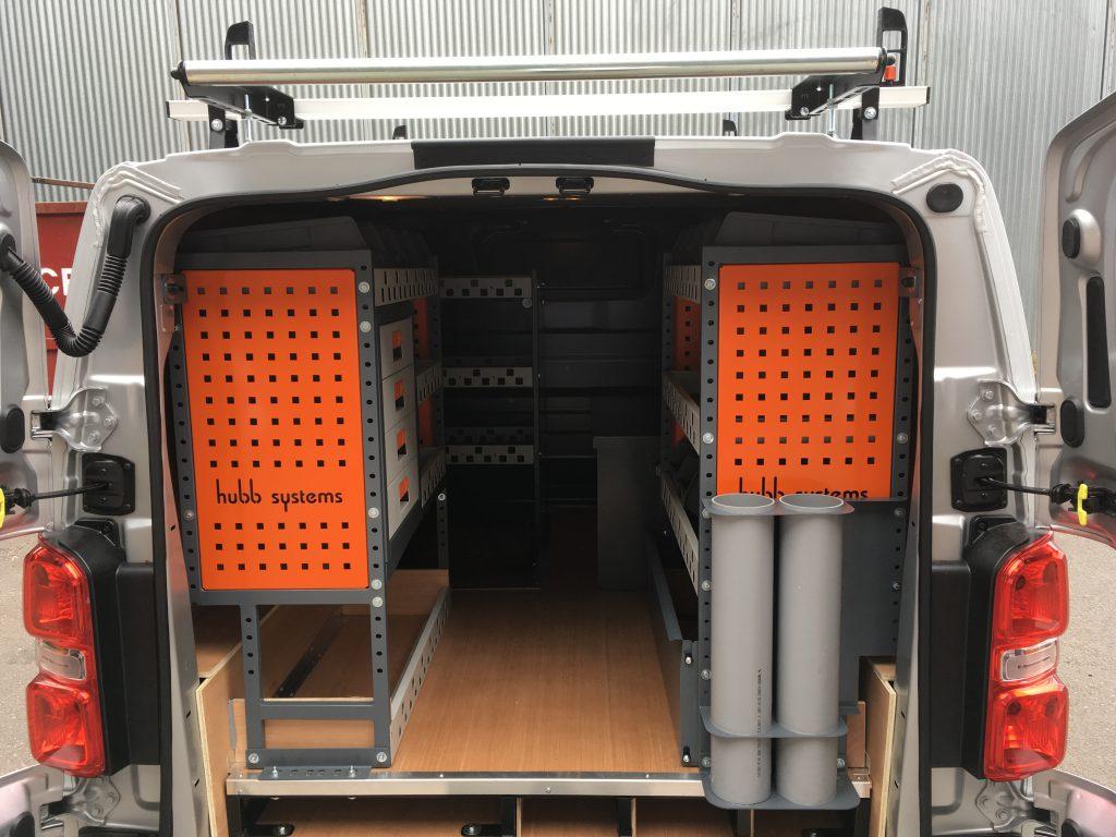 Hubb System Van Racking