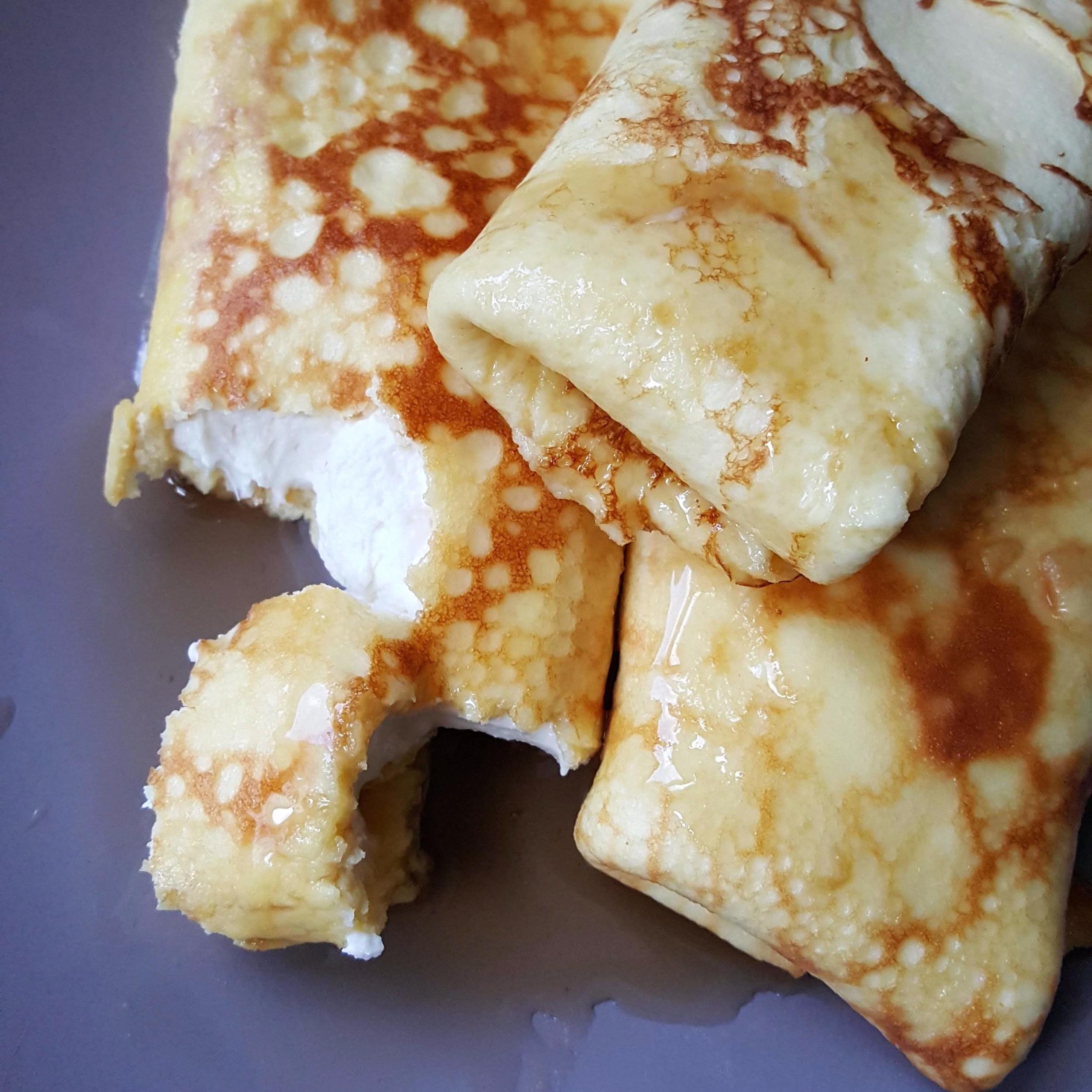 - cream cheese blintz