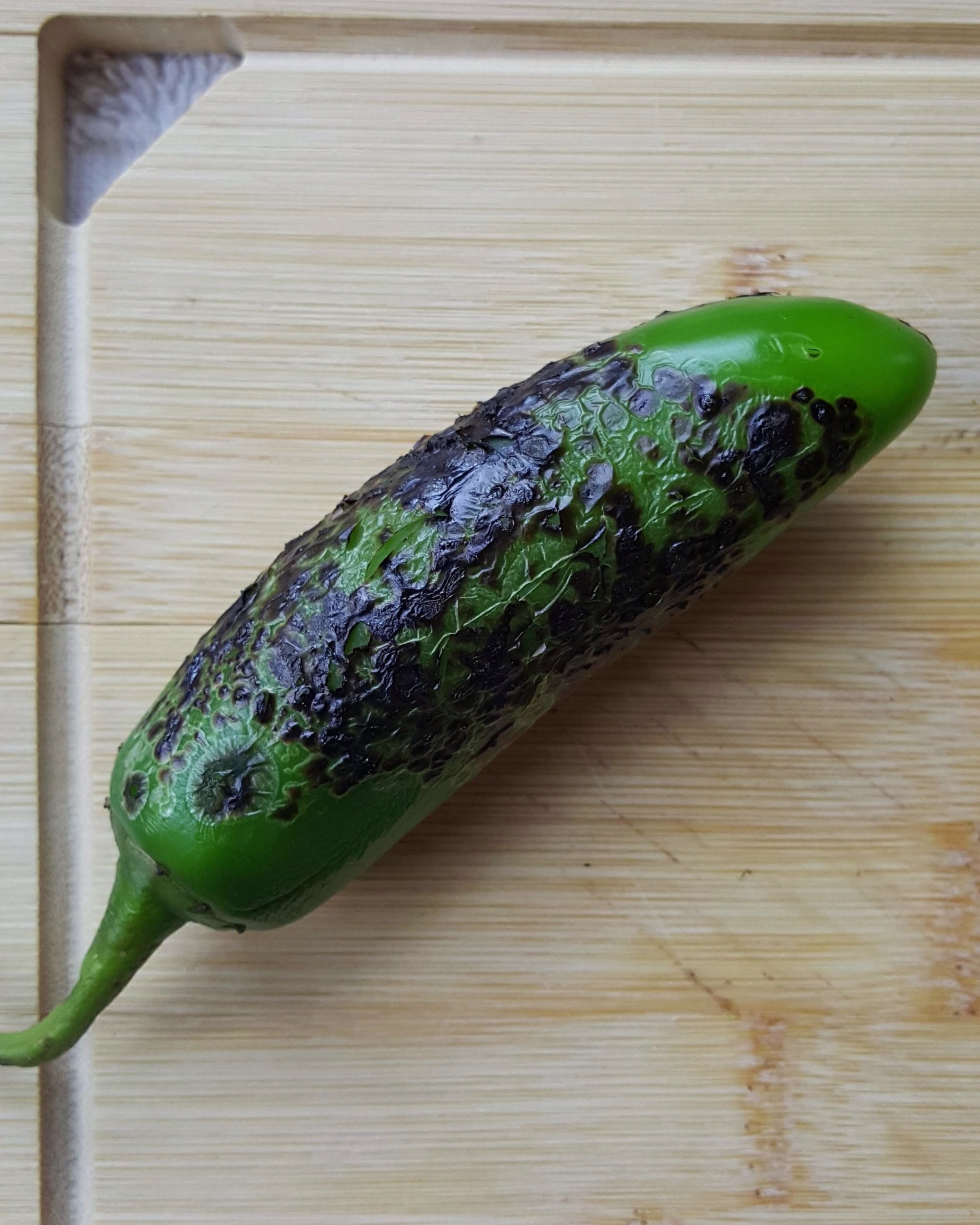 Fire roasted Jalapeño.