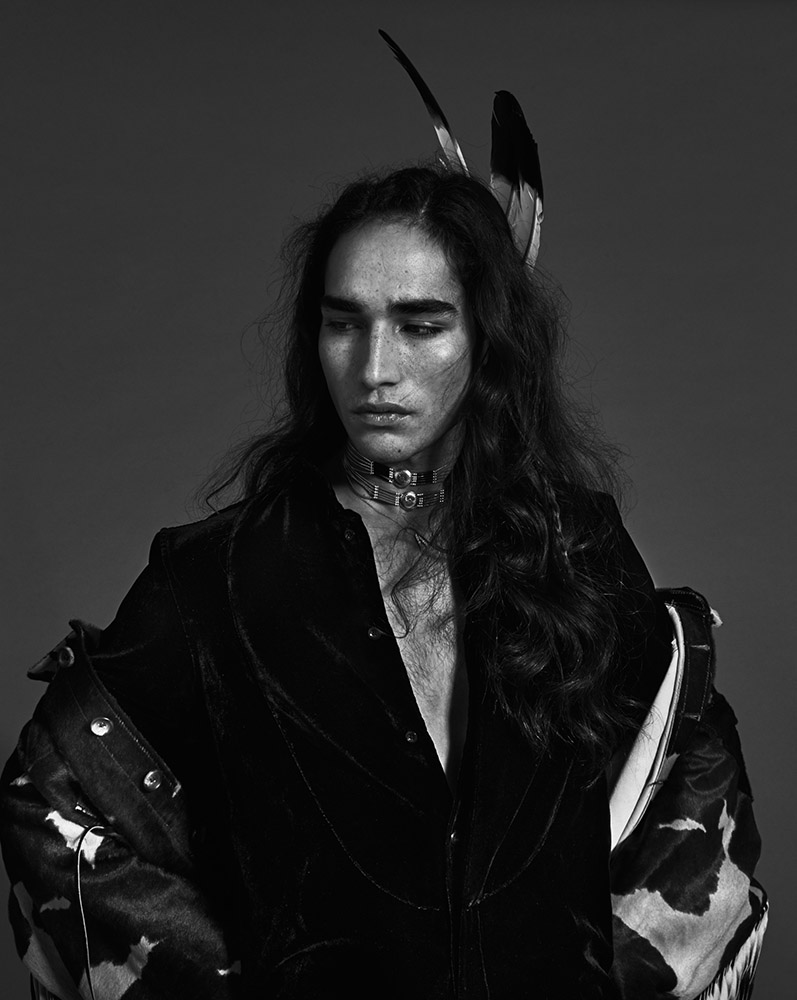"""Native Indigo"" for SLIMI Magazine"