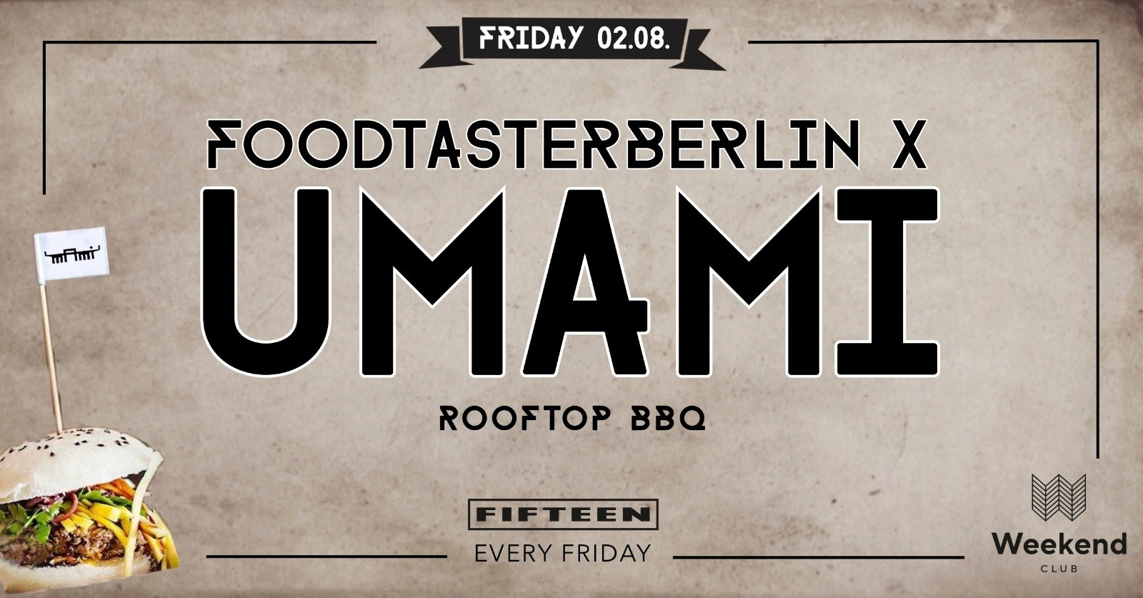 ☆ Foodtasterberlin x UMAMI - Rooftop BBQ ☆ Foodtasterberlin presents Berlin's must-eat food!  What's better than watching the sunset with the best view over Berlin, eating super delicious UMAMI signature finger food  enjoying great music  from a live DJ and drinking delicious drinks?