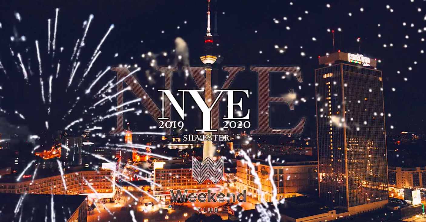 NEW YEARS EVE Rooftop over Berlin  We are celebrating a huge and exclusive New Years Eve party above the City. See the fireworks on the biggest Rooftop in Berlin. We will offer you an exclusive Party in the heart of the city with an incredible view over Berlin and Dancefloors with the finest music.