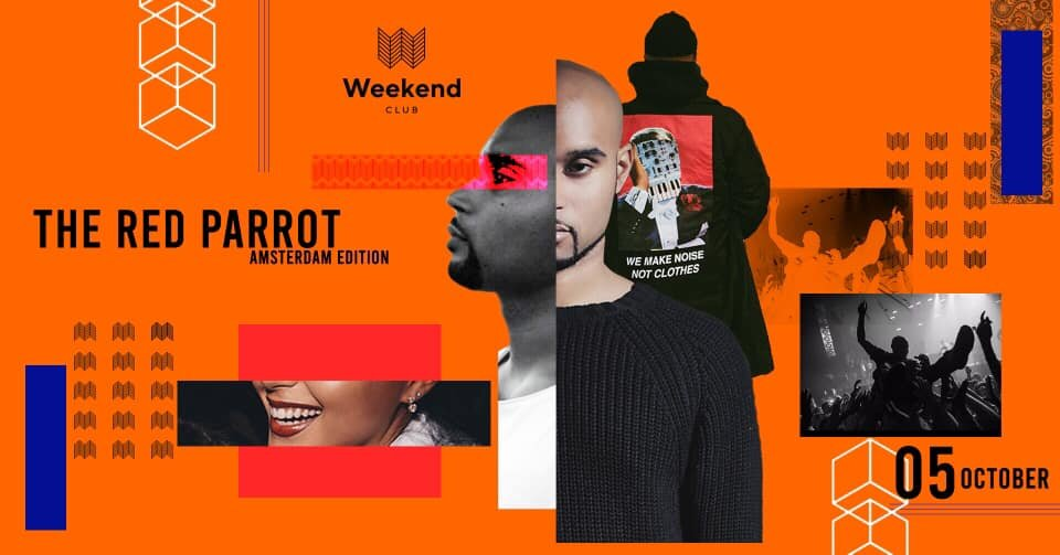 The Red Parrot  - The Amsterdam Edition -   Come join us on Saturday, October 5th and let's celebrate with Waxfiend,  our all-time favourite DJ from Amsterdam!   We are very happy to finaly have him back here  at THE RED PARROT ❤️  Also our good friends from BLACK PAPER are hosting the Panorama Loft  with their unique mix of Afrobeats, Hip Hop & Dancehall!  This will be a night to remember!  And watching the sunrise on our spectacular rooftop isn't too bad, either