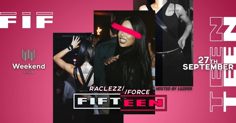 FIFTEEN  We want to create a spot for people with open minded visions of music & fashion. An esthetic look is an essential step to treat your body like it deserved