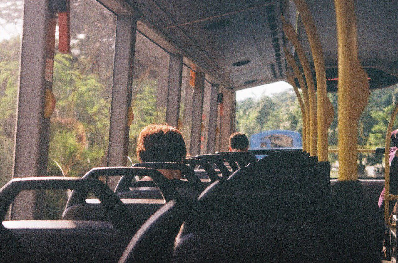 At the time there was nothing better than having an empty double-decker to take me home from school. I'd put on my earphones, feel the glow of the setting sun, and fall asleep, my head bobbing against the window.