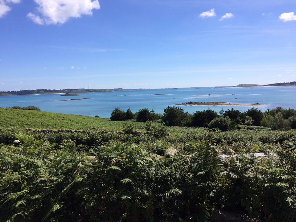 Isles of Scilly – I visit the islands every year, they are the most idyllic islands in the UK and my absolute favourite place to relax with my friends and family; although, the sea is not as warm as it looks!  Phoebe Jowett Smith