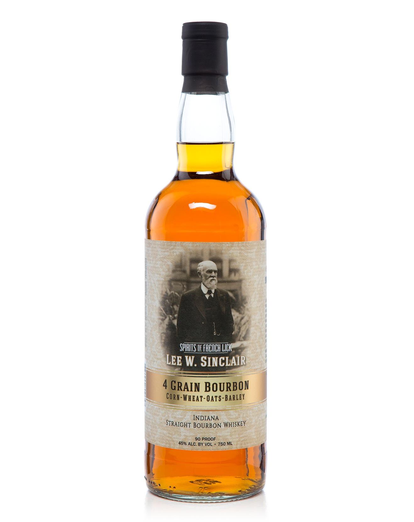 Spirits Of French Lick Lee Sinclair 4-Grain Bourbon