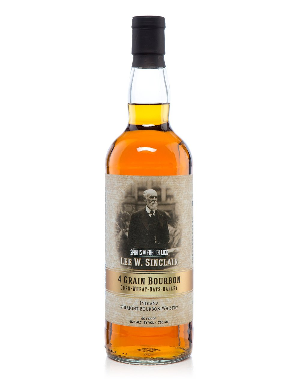 Spirits Of French Lick Lee Sinclair 4-Grain Bourbon