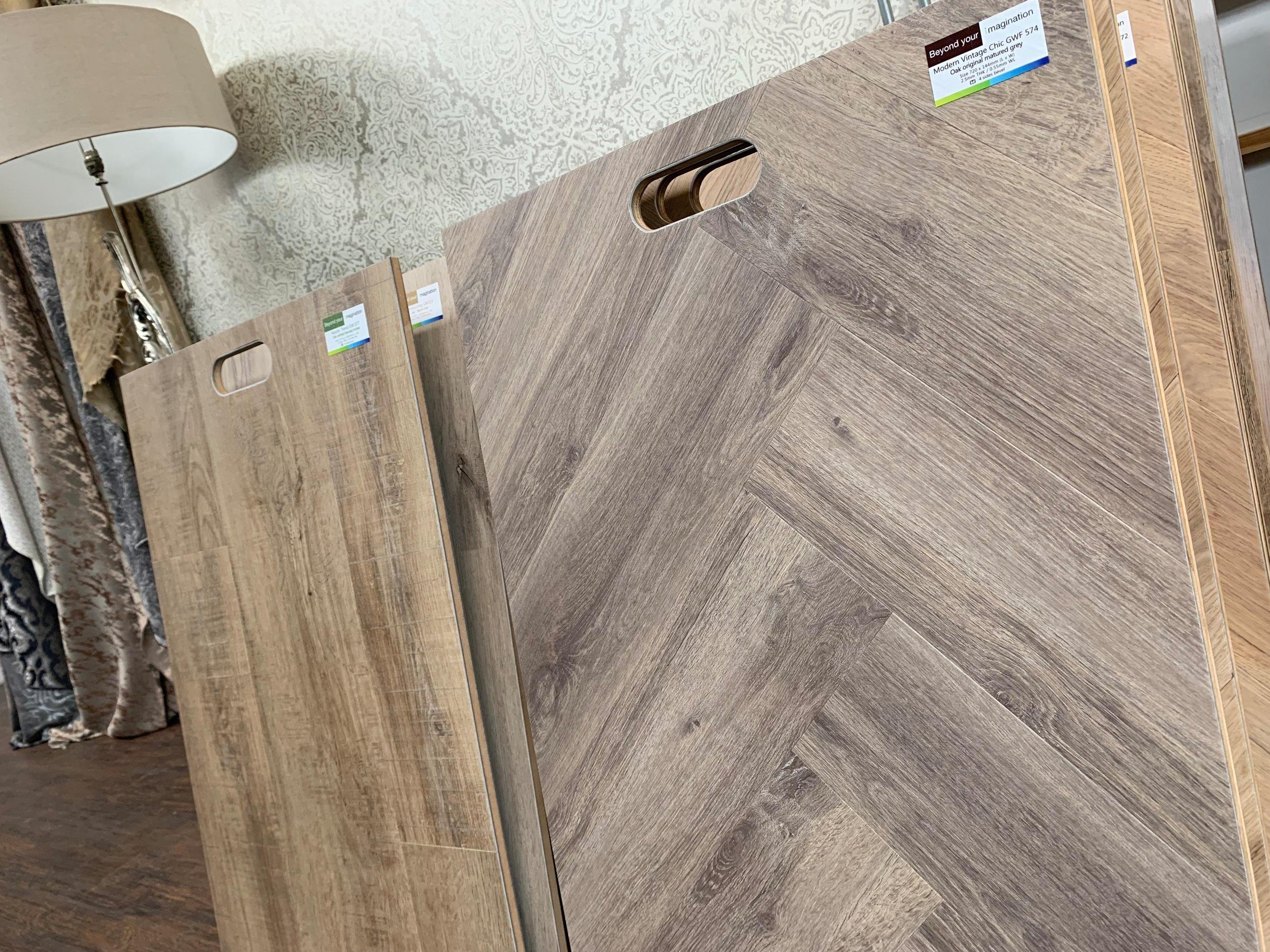 Luxury Vinyl Flooring   Designer brands to complement your scheme!
