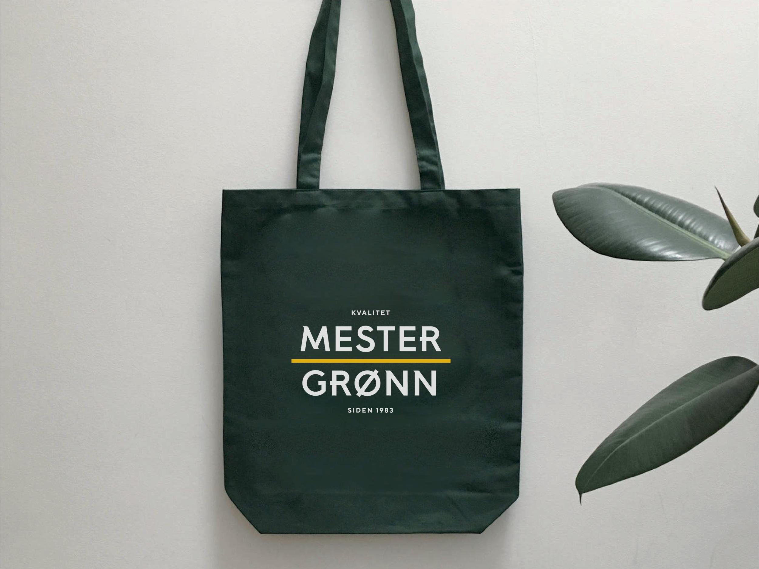 Mester Grønn — Visual Identity