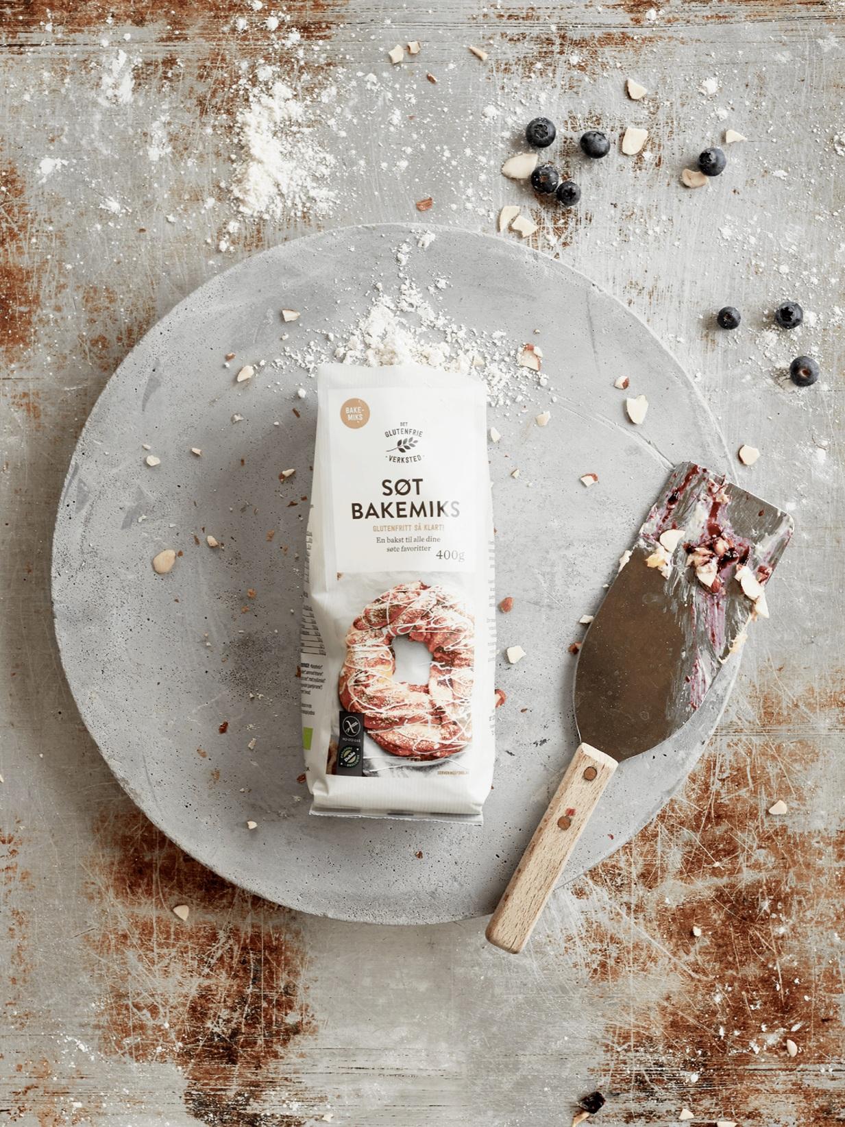 Det Glutenfrie Verksted — Packaging