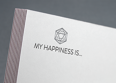 My Happiness Is... Logo Design