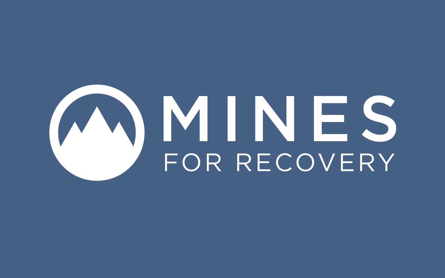Mines for Recovery Logo Design
