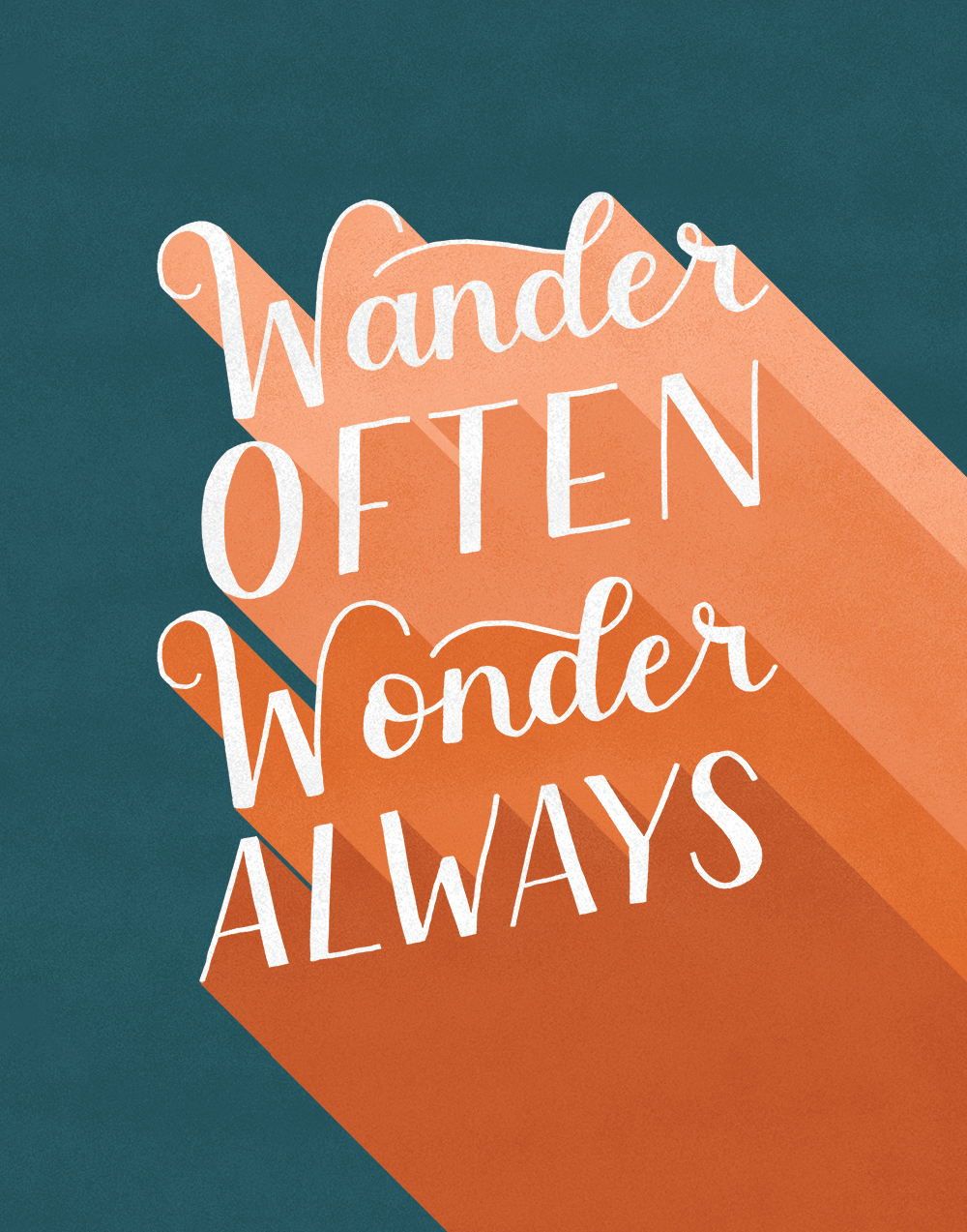 Wander Often, Wonder Always