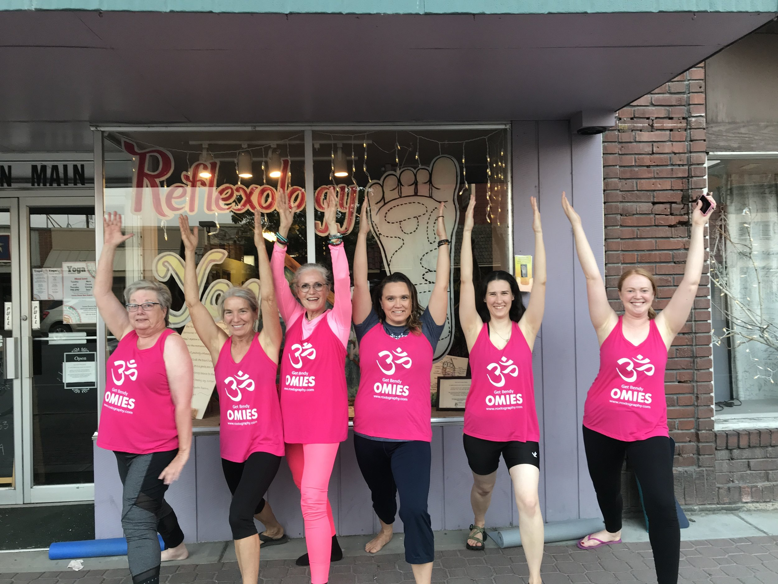 The Get Bendy Omies at the Mustard Seed In Omak