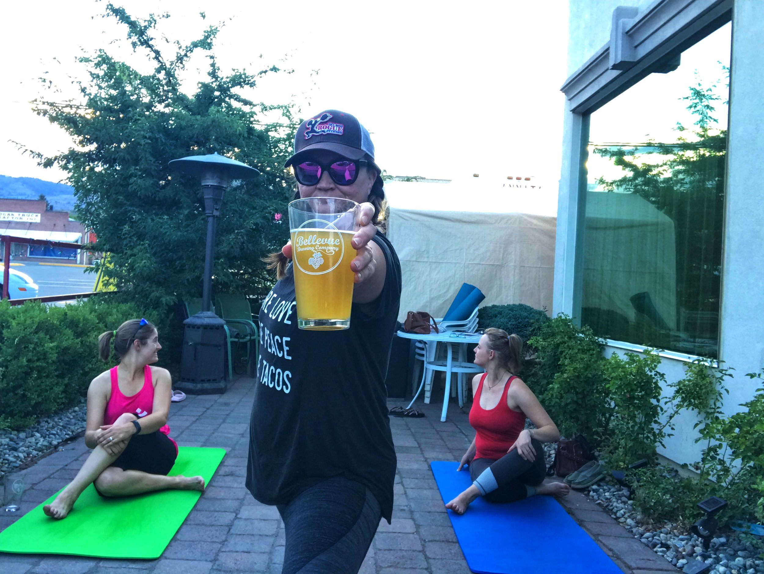 Beer and Yoga