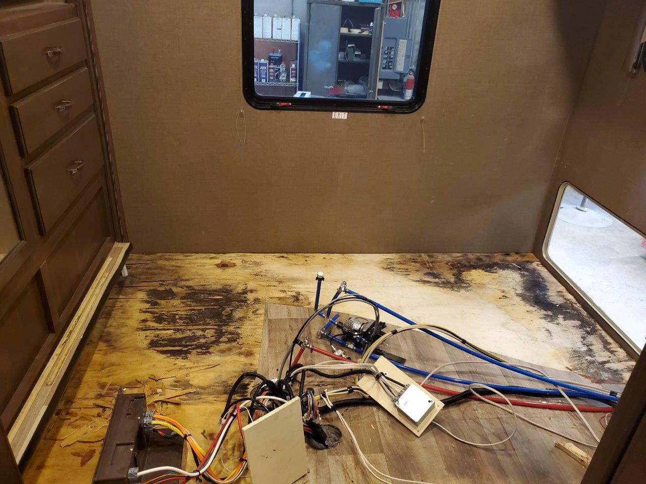 A leaking toilet can cause serious damage to the floor of your RV leading to major repairs.