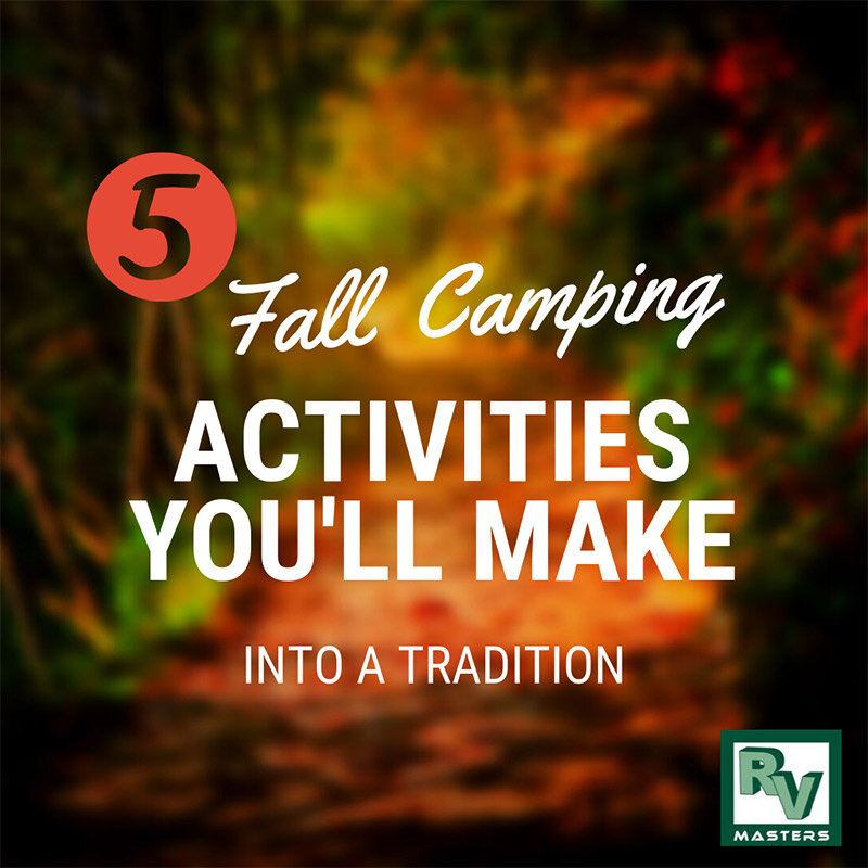 5 Fall Camping Activities You'll Make Into a Tradition