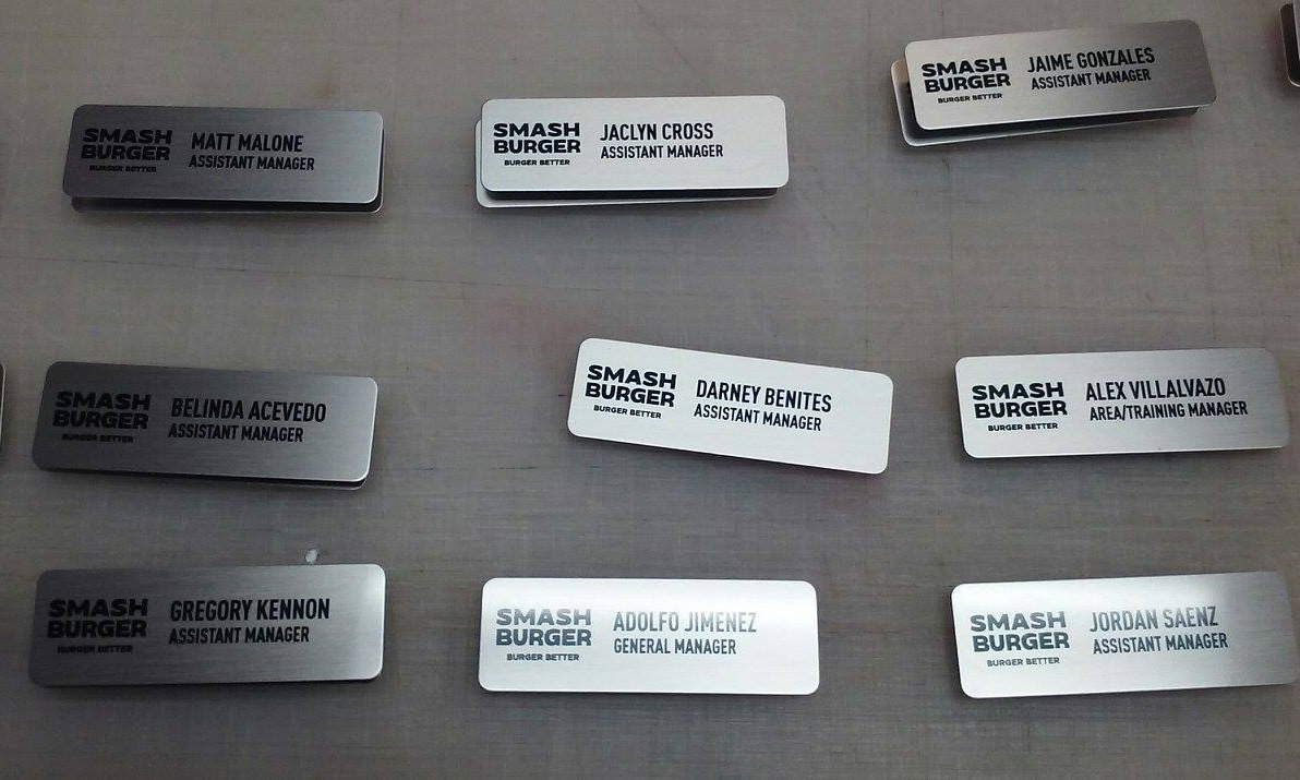 Name Badges -