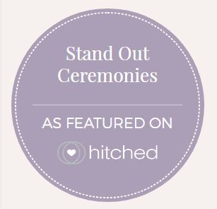 I am now recommended on hitched.co.uk - read my full profile here!