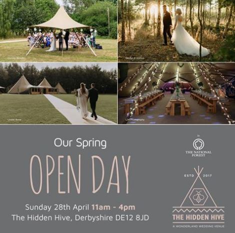 Delighted to be attending the open day for a fabulous local Tipi venue as a recommended celebrant for ceremonies in this stunning location! Come and meet me there to discuss your perfect ceremony!