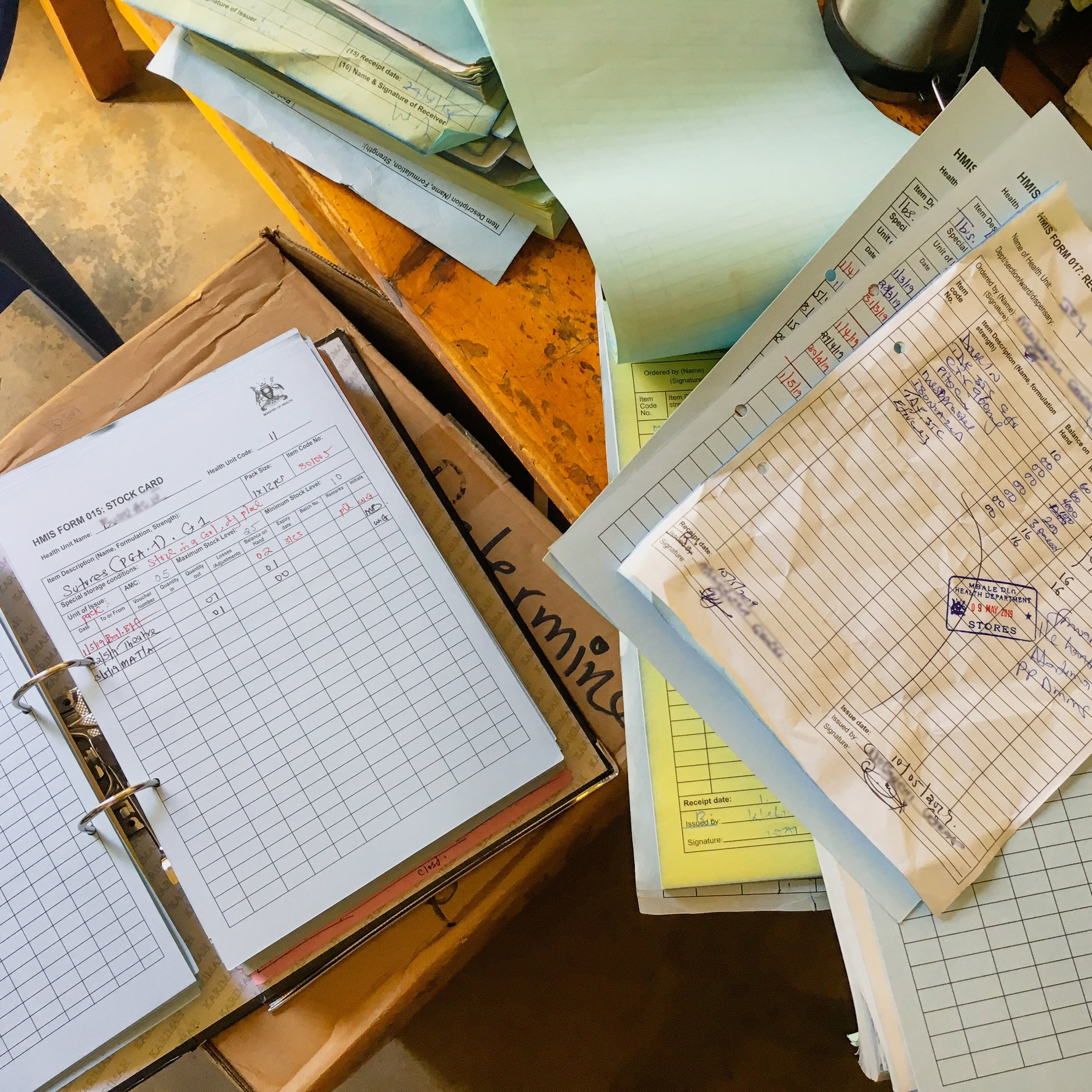 Often, medical records and information are kept only on paper throughout the public health systems in the communities we serve.