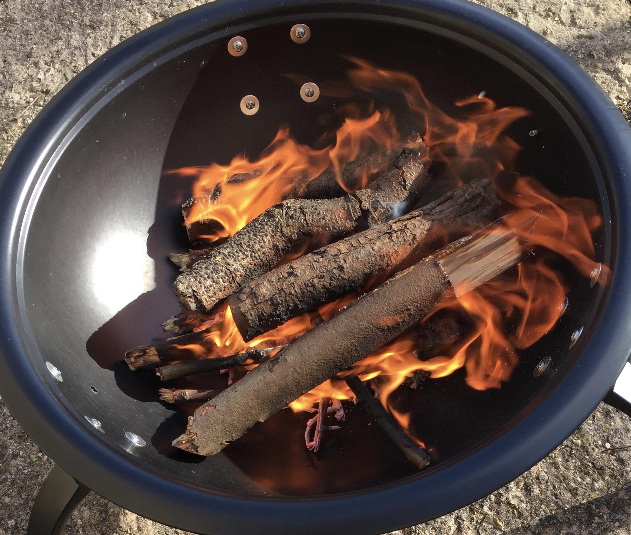 Fire - Enjoy the heat.