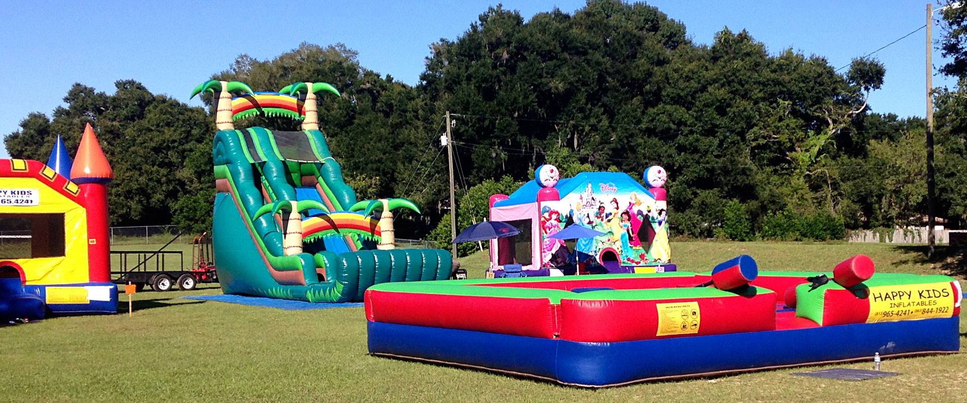 Inflatables galore!