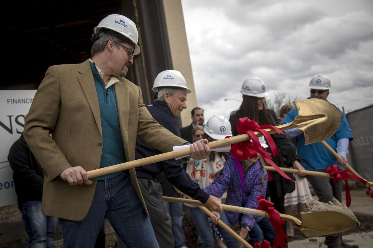 Breaking ground at The Monarch, Photo by Benjamin Zack/Standard-Examiner