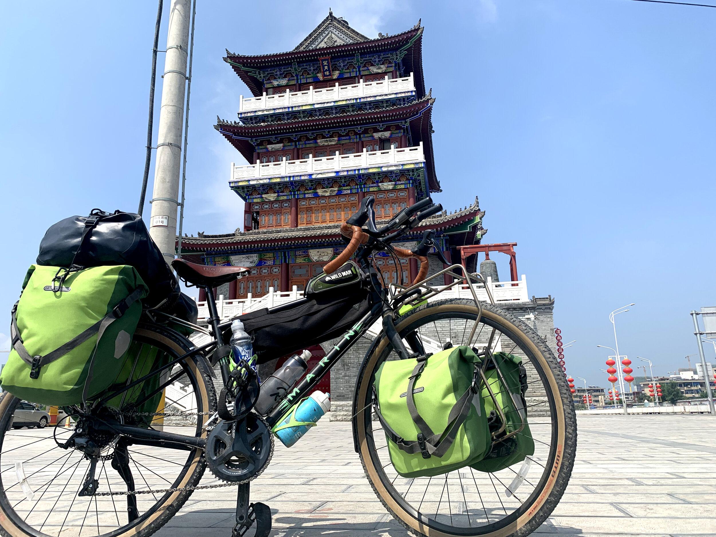 In Xi'an, week three of the trip.